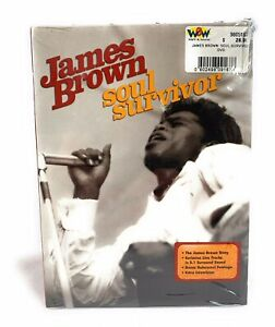 James Brown Soul Survivor Music DVD with Bonus Features New & Sealed Free Post