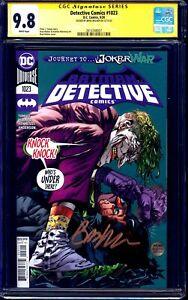 Detective Comics #1023 CGC SS 9.8 signed by Brad Walker BATMAN JOKER COVER