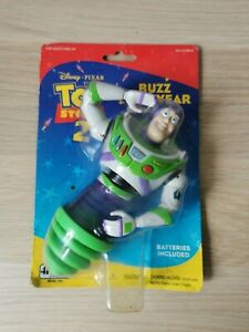 Disney's Toy Story 2 Buzz Lightyear Bouncing Top Toy Sealed 1999