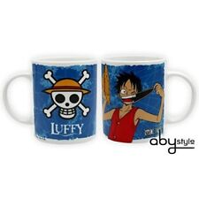One Piece - Tasse - Luffy mit Totenkopf Ruffy Straw Hat Skull Tasse mug 320 ml
