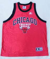 CHICAGO BULLS Starter Shirt Größe L 48 vintage 90er NBA original 90s Trikot size
