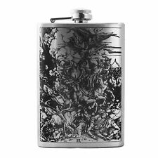 8oz 4 Horsemen Flask L1