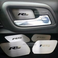 Door Catch Hairline Metal Silver Garnish Molding Cover For CHEVY 2011-17 Aveo RS