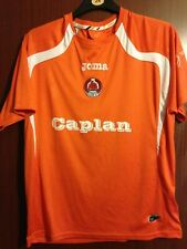 Clyde FC Scottish Football Away Shirt Orange Joma Caplan Size L 2011 World Post!