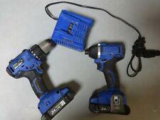 Kobalt Combo Set Kdp 524B-03 Drill Driver Kip 324B-03 1/4 Brushless Impact