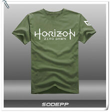 PS3 PS4 Horizon / Uncharted / Battlefield Logo short sleeves cotton T-shirt