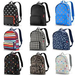 Reisenthel Foldaway Lightweight Travel Rucksack Backpack Various Patterns