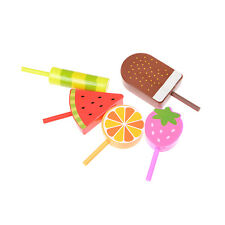 17pcs Ice Cream Desserts Drink Stand Kids Pretend Play Food Plastic Toy TSUS