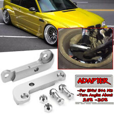 Silver For BMW E46 M3 Adapter Increasing Turn Angles about 25-30% Drift Lock Kit