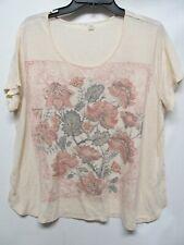 Unbranded women Plus size 18/20 Multicolor BLING Blouse short sleeve Lot#35