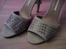 SEXY PRIMARK ATMOSPHERE SAND EMBELLISHED SPARKLE PARTY SANDAL SHOE  SIZE 7 EU 41