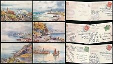 Posted Printed Collectable Postcard Sets