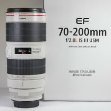 Canon 70-200mm f/2.8 L IS III USM EF Telephoto Zoom Lens mint minus  Boxed