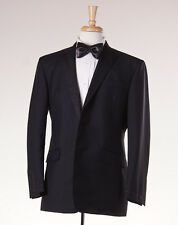 NWT $1600 BROOKS BROTHERS BLACK FLEECE Wool-Mohair Tuxedo Slim 46 R BB5 Suit
