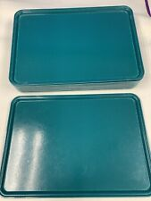 "Cambro Camtray 3753414 Food Tray Approx 14"" * 21"" Teal Color Case Of 12"