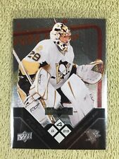 2008-09 Black Diamond MARC ANDRE FLEURY Quad Diamond SP All Star Penguins