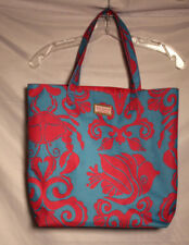 Lilly Pulitzer for Estee Lauder Cute Blue and Pink  Crab Starfish Canvas Tote