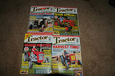TRACTOR AND MACHINERY MAGAZINES (4 for sale) July, Sept, Oct, Dec, 2005