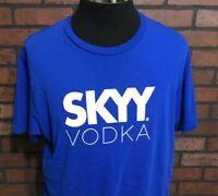 Sky Vodka Short Sleeve T-Shirt Men's Size XL
