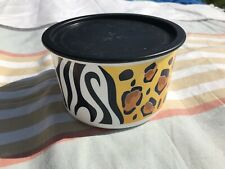 Tupperware One Touch Canister Animal Print 6 cup