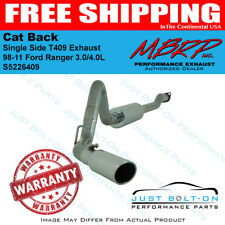 MBRP 98-11 Ford Ranger 3.0/4.0L Cat Back Single Side T409 Exhaust S5226409