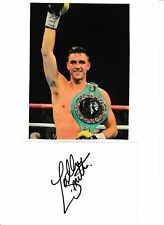 More details for callum smith - hand signed mount (see description)