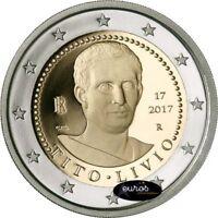 Pièce 2 euros commémorative ITALIE 2017 - Tito LIvio - Qualité UNC - 2/2