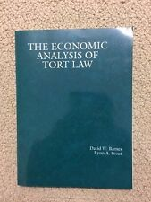 American Casebook: The economic analysis of Tort Law  by Lynn A. Stout...p19