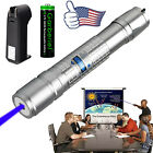 Tactical 5mw 405nm Blue Purple 18650 Laser Pointer Pen Visible Beam Light Lazer