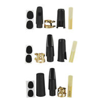 1 Set Saxophone Sax Mouthpiece Reed for Tenor/Alto/Soprano Sax Accessory