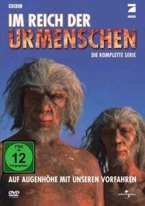 DVD BBC - IM REICH DER URMENSCHEN - DIE KOMPLETTE SERIE - DOKUMENTATION * NEU *