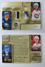 2005-06 UD The Cup NN-PK Perreault Koivu 06/11 SICK patches noble numbers dual