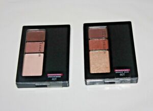 Maybelline New York Expert Wear Eyeshadow Trios #60T + #40T Lot Of 2 Sealed