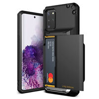 For Galaxy S20 Plus Case VRS® [Damda Glide Pro] Premium Card Wallet Cover