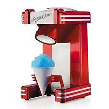 Retro Snow Cone Maker Machine Electric Sno Ice Shaver Crusher Slushy Nostalgia