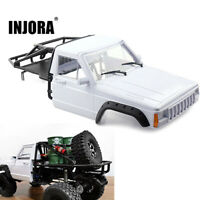 Cab Half Body Shell & Cage for 1/10 Traxxas TRX4 Axial SCX10 & SCX10 II RC Car
