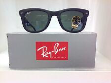 RayBan WAYFARER FOLDING!! 4105 601-S 50 NERO OPACO MATTE
