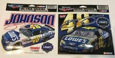 New listing Jimmie Johnson #48 Lowes  Two Cars Nascar Racing Ultra Decal Set
