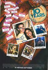 Jenna Dewan Tatum, Rosario Dawson, Chris Pratt & Jamie Linden signed 8x10 photo