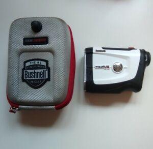 Bushnell Tour V4 Golf Distance Laser Rangefinder With Box And Carry Case