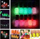 Fluorescent Neon Make up Nail Polish Luminous Glow In Dark Varnish 7ML/Bottle
