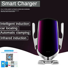 10W Qi Wireless Charger Ir Automatic Clamping Phone Holder Car Gps Tracker App