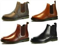 Real Leather Oaktrak Winterhill Airsole Chelsea Dealer Pull On Boots