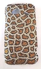 HTC Droid Incredible 4G LTE  Leopard  BLING Cell Phone Case Cover New