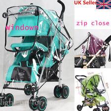 Universal Clear Baby Pram Stroller Buggy Pushchair Raincover Rain Cover UKSeller