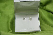Irish Jewellery Maureen O'Hara Silver Plated Shamrock Stud Earrings Quiet Man