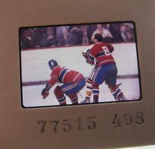 J C TREMBLAY LARRY PLEAU Montreal Canadiens  ORIGINAL SLIDE 1