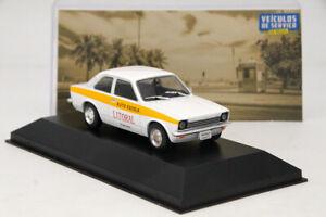 1:43 IXO Chevrolet Chevette Auto Escola Diecast Models Toy Car Collection