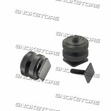 "PROFESSIONAL 1/4"" TRIPOD MOUNT SCREW TO FLASH HOT SHOE ADAPTER GO PRO VITE"