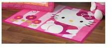 Lambs & Ivy Hello Kitty Garden Rug, Pink For Baby Nursery With Anti-Slip, Cute